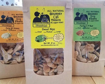 Dog And Cat Treats Made With All Natural, 100% Organic Ingredients. Homemade in North Carolina. Order Now! Blanchards Treats