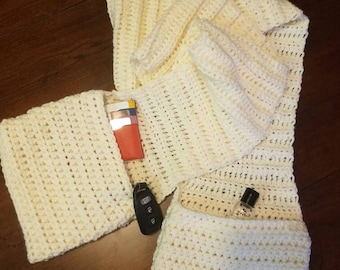 Pocket scarf - made to order