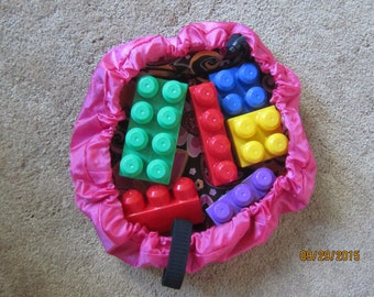 """Lego Tote, Car Carrier, Toy Totes - Sturdy Carryall for """"on the go"""" toys"""