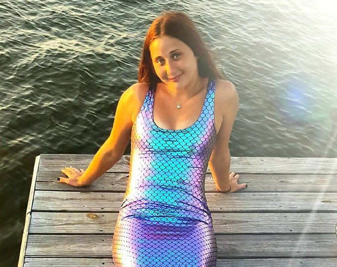 Mermaid Tail  Walkable/Swimmable with Invisible Zipper Bottom !Add Monofin/Add Bathing Suit!!*** FAST SHIPPING!!