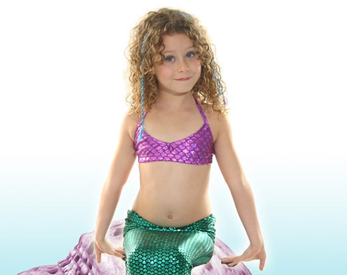 Swimmable Mermaid Tail with Invisible Zipper Bottom! Walkable!Add Monofin/Add Bikini!  FAST SHIPPING!!