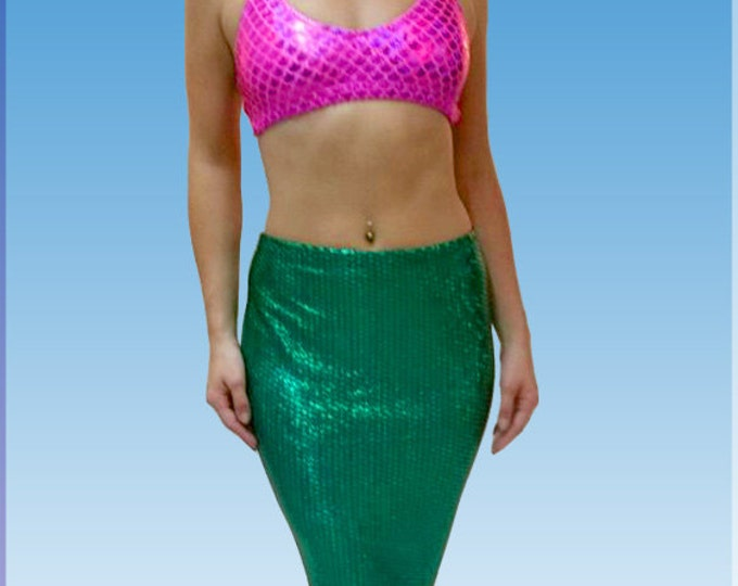 Long Mermaid Skirt for Adults!