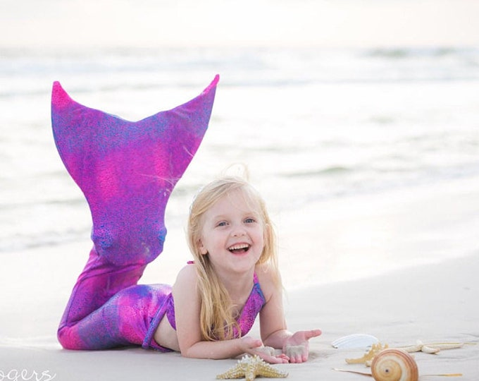 Mermaid Tail  Walkable/Swimmable with Invisible Zipper Bottom !Add Monofin/Add Bikini *** FAST SHIPPING!