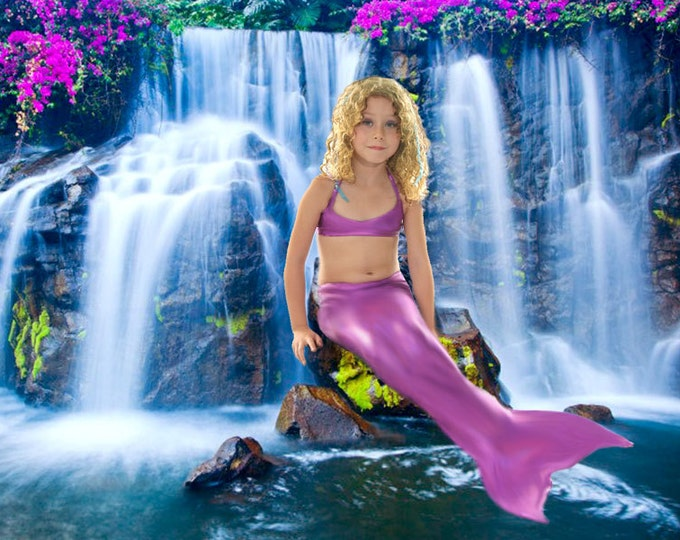 Mermaid Tail  Walkable/Swimmable with Invisible Zipper Bottom !Add Monofin/Add Bikini *** FAST SHIPPING!!