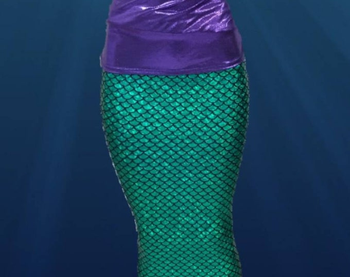 Mermaid Tail Walking Costume/Walkable with Invisible Zipper *** FAST SHIPPING!!