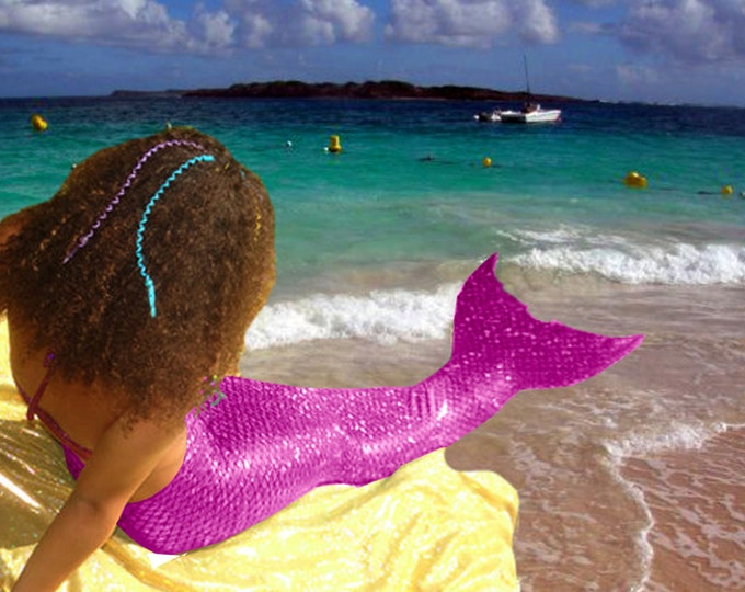 Mermaid Tail  Walkable/Swimmable with Invisible Zipper Bottom !Add Monofin/Add Bikini *** FAST SHIPPING!!!