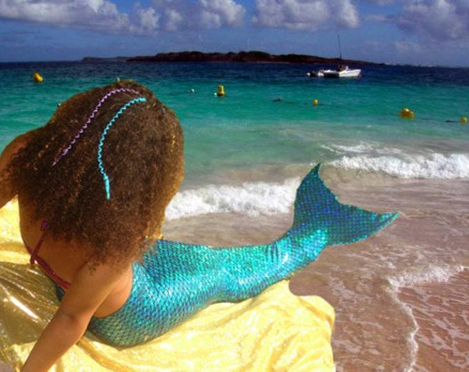 Mermaid Tail  Walkable/Swimmable with Invisible Zipper Bottom !Add Monofin/Add Bikini www.tailzmermaidgear.com!