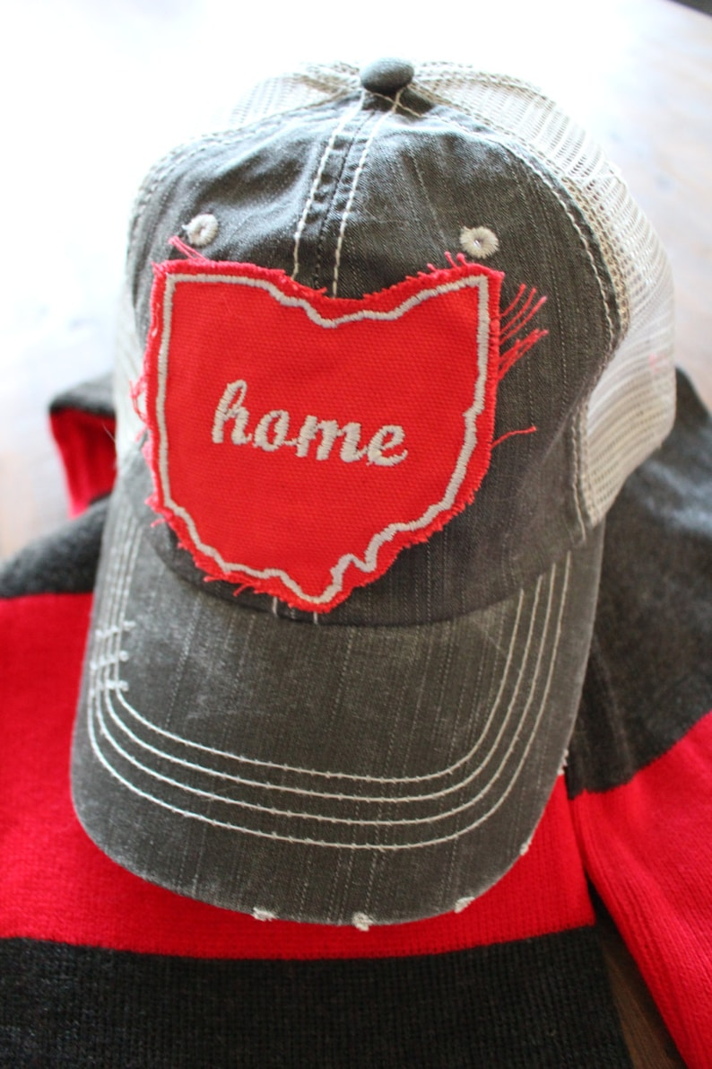 The Cassy Trucker Lid Ohio Hat image 0