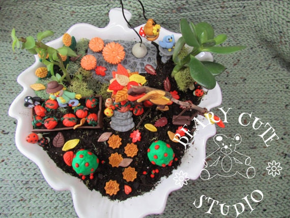 Ghost Halloween Chocolate Cake Dollhouse Miniatures Food  Holiday Season