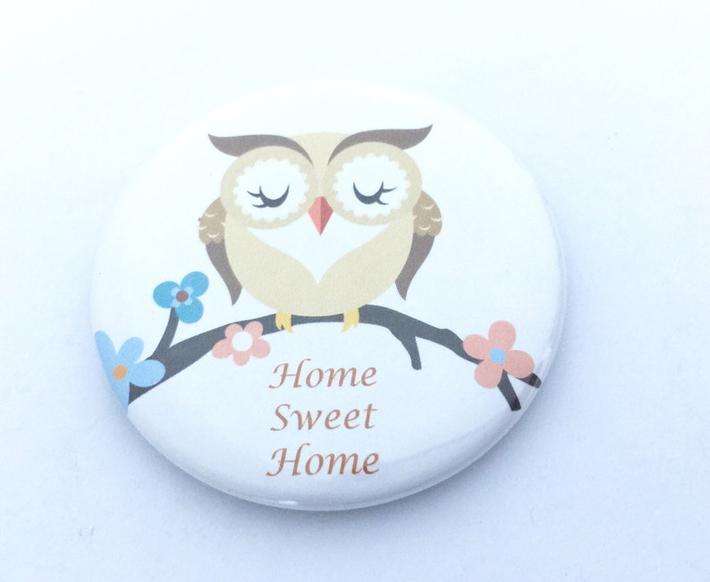 Home Sweet Home Owl Magnet