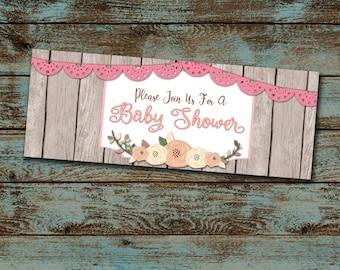 Baby Sprinkle Facebook Event Header Baby Shower Facebook Etsy
