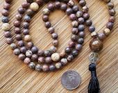 108 Bead Meditation Mala,...