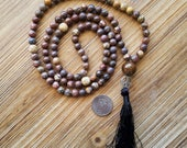 Mala, Tassel Necklace, Bo...