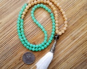 Mala, Tassel Necklace, 10...