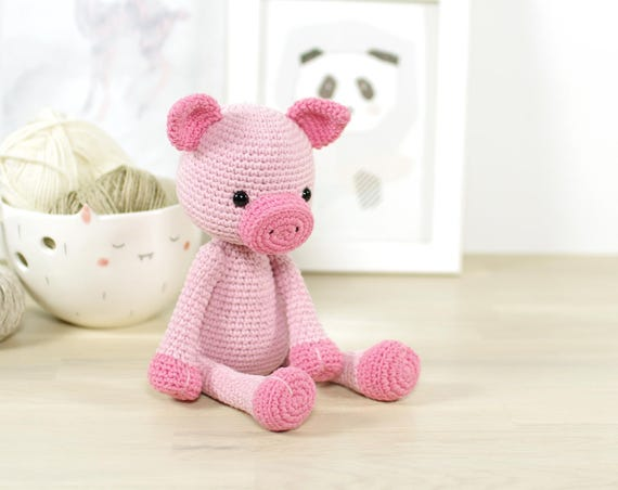 Pattern Pig Amigurumi Piglet Crochet Pattern And Tutorial Etsy