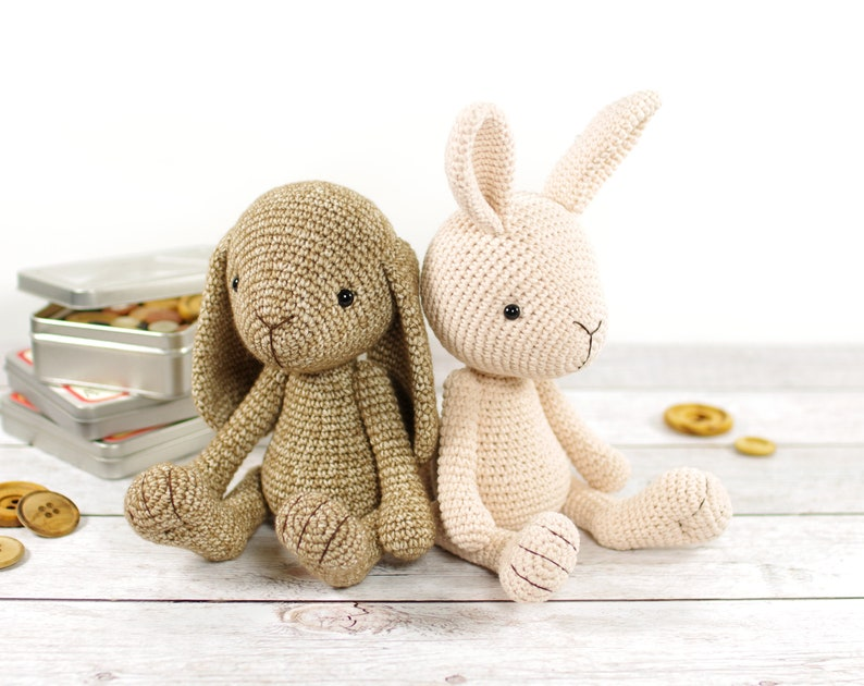 PATTERN: Bunny  Amigurumi Rabbit Pattern and Tutorial  image 0