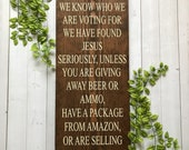 No Soliciting Sign - No Solicit Sign - Funny Front Porch Sign - Outdoor Sign - Outdoor Decor - Porch Sign - Rustic Sign