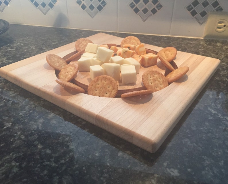 Two Sided Custom cheese and cracker board image 0