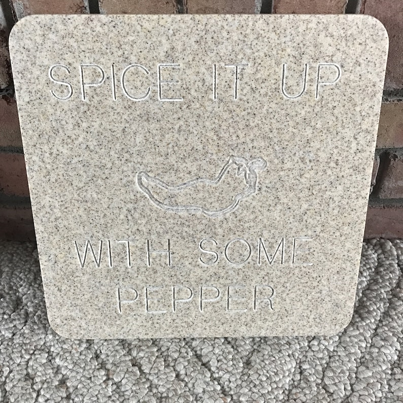 Spice It Up carved corian board image 0