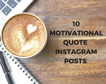 10 motivational quotes for Instagram posts with woodworking or coffee shop theme
