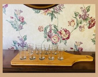 Shot Glass Server / shot mini dessert server / drink server in bamboo