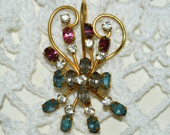 Vintage Antoinette 1/20-12K Gold Filled Brooch Signed