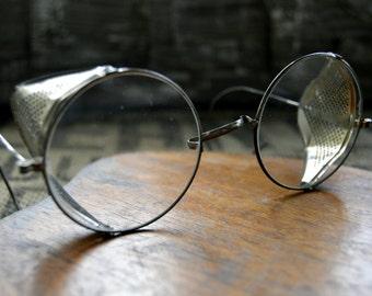 Vintage Willson Motorcycle Folding Safety Glasses
