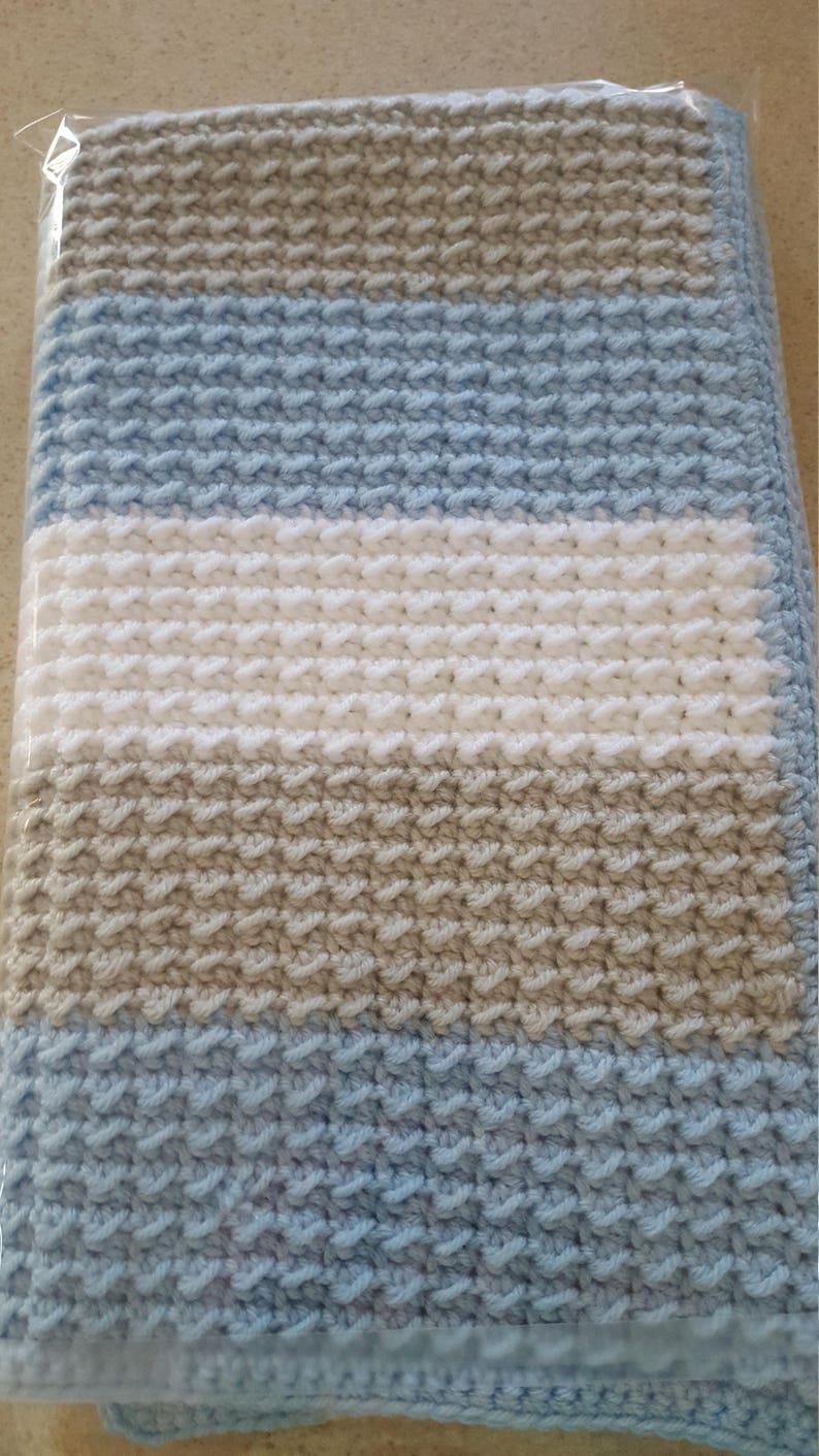 6cd8d9e534 Handmade extra thickness crochet baby blanket winter is