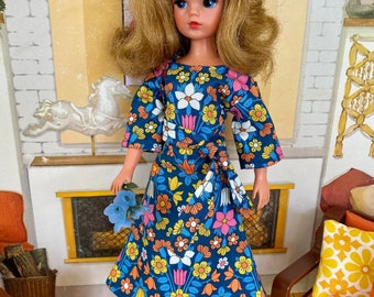 Country Manor dress for Sindy. ( Adult collectors.)