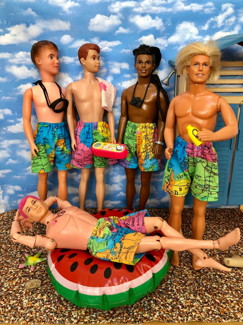 Big Adventure shorts for Ken Paul Action man and the chaps. image 0