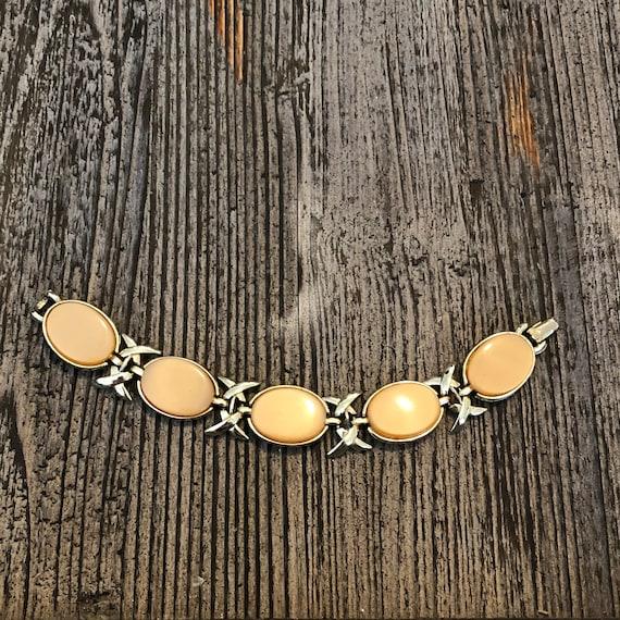 Coro Mid Century Chunky Butterscotch Bracelet Cost