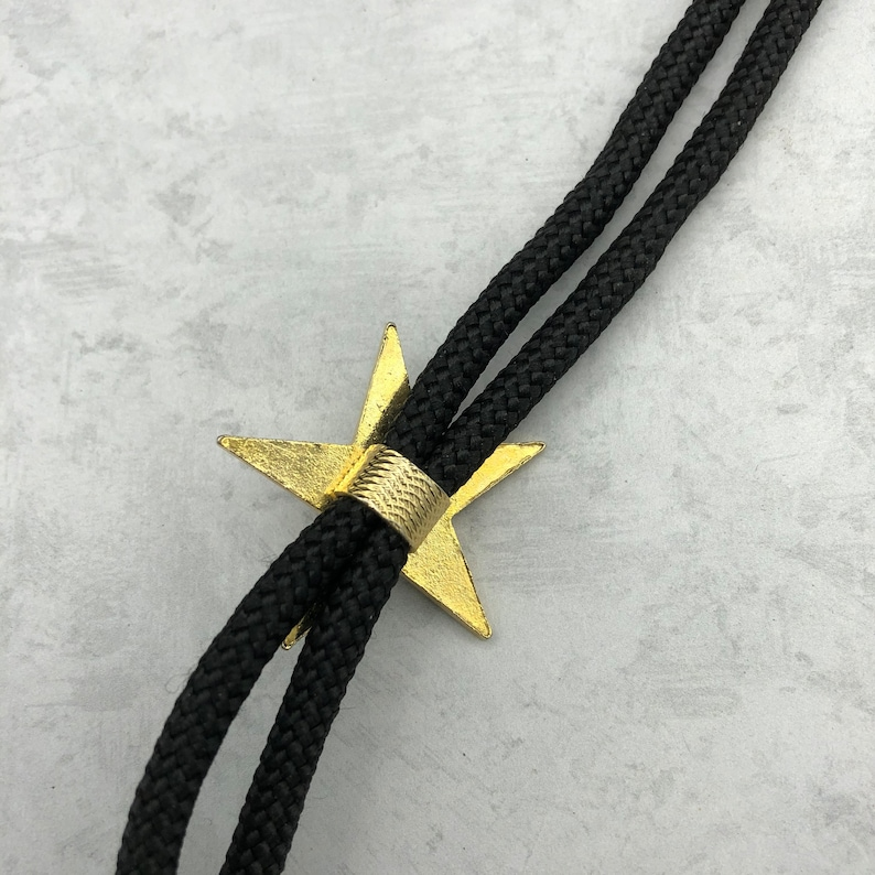 The Order of the Eastern Star Bolo Tie Vintage Rare