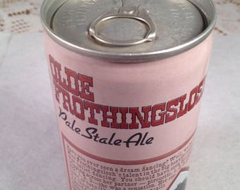 Collectible Beer Can Olde Frothingslosh Pittsburgh Brewing Company Vintage Beer Stocking Stuffer