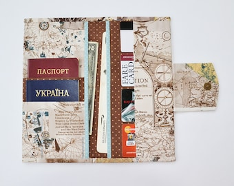 Travel wallet etsy gumiabroncs Image collections