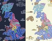British bread map UK...