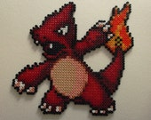 Items Similar To Pokemon Charmeleon Plastic Bead Pixel Art
