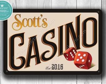 Casino | Etsy
