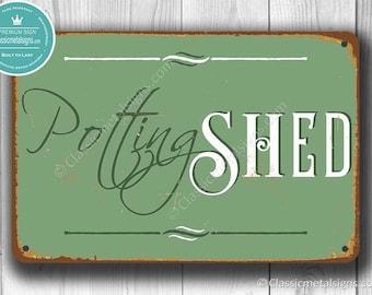 Beau POTTING SHED SIGN, Potting Shed Signs, Vintage Style Potting Shed Sign, Potting  Shed Decor, Garden Decor, Garden Decorations, Potting Shed