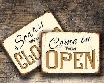 OPEN CLOSED SIGNS, Open Closed Sign, Open Closed Signs Vintage style, Open Sign, Closed Sign, Custom Open Closed Signs, Open Closed, Signs