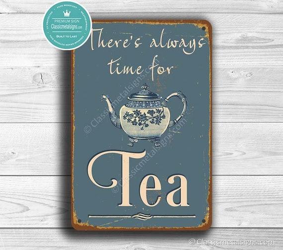 Tea Teapot Cafe Restaurant Kitchen Deco Style Vintage Poster Repro FREE SHIP