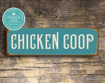 CHICKEN COOP SIGN, Chicken Coop, Vintage Chicken Coop Sign, Coop Signs, Chicken Signs, Outdoor sign for Coop, Coop Decor, Chicken Coop Signs