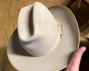 a66c2b036fdd30 Vintage Stetson Cowboy Hat ~ Open Road ~ Photo Shows Size 6 7/8