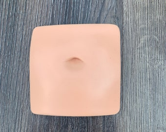 Soft Silicone Belly Button Display Model for Jewelry Designers/ Tattoo Artists
