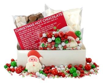 Christmas Hot Chocolate Kit - Foodie Gift - Hot Chocolate - Christmas Gift Box - Christmas Chocolate - Marshmallows - Sprinkletti Sprinkles