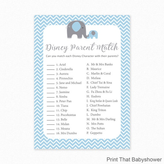 Dumbo Elephant New Born Baby Christening Baby Shower Wall Art A4 Print Only