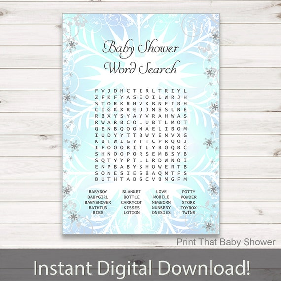 picture regarding Frozen Word Searches named Kid Shower Video games - Little one Phrase Seem Sport - Frozen Youngster