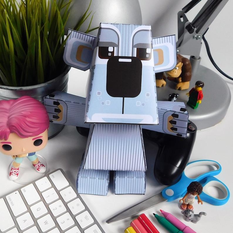 Paper Toy Craft Activity Koala Bear   Super D.I.Y kids craft image 0