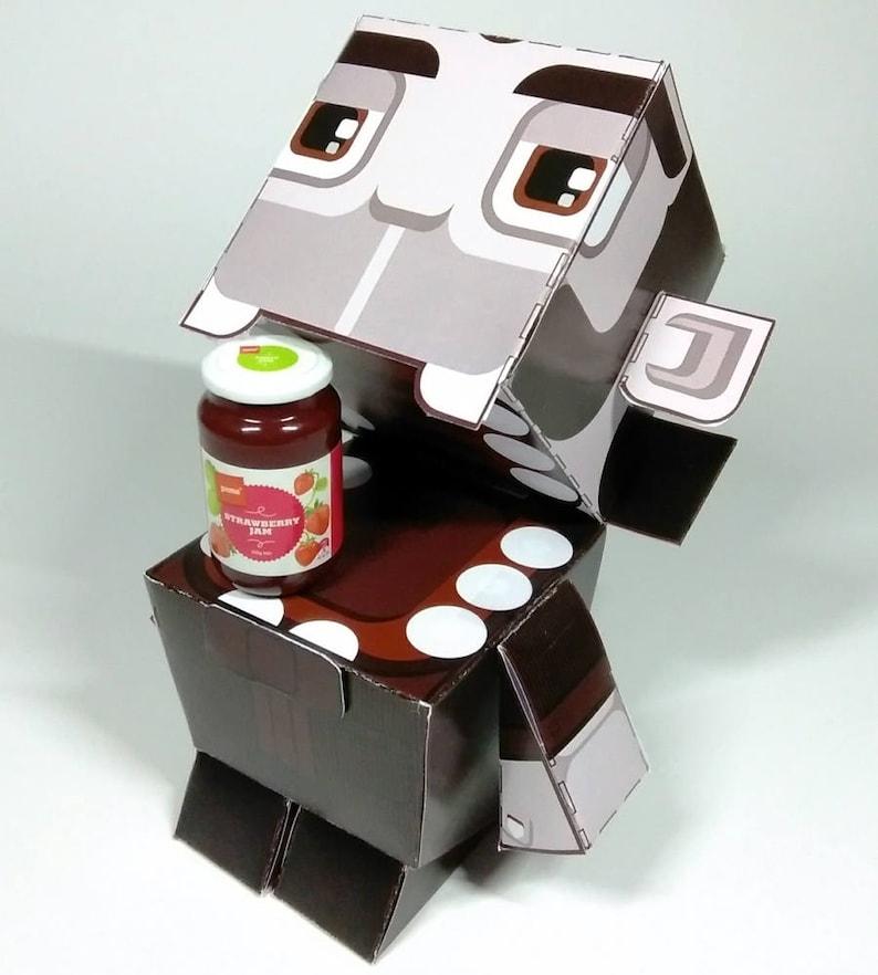 D.I.Y Paper Toy Craft Activity Halloween Count Vampire   50% image 0