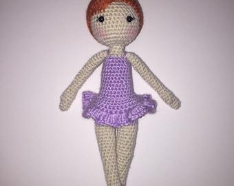 Amigurumi Ballerina Doll Crochet Photo Prop