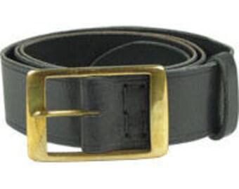 Men Belt Men leather belt Trousers belt Wide Belt Black Trousers Belt